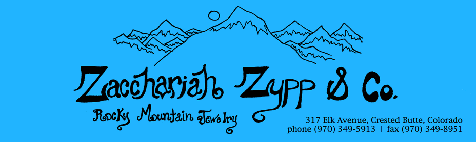 Zacchariah Zypp - Rocky Mountain Jewelry